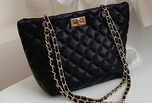 Embossed Fashion Tote