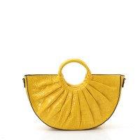Fashion Faux Croc Handbag with Wallet