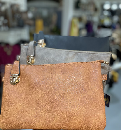 Messenger Bag with Buckle