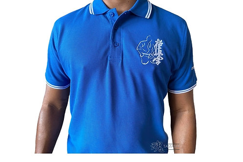 Tipped Polo Embroidered Shirt