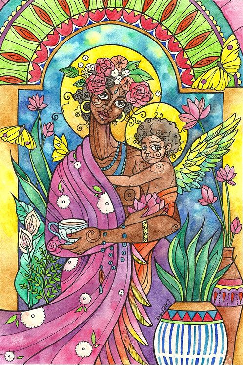 Fine Art Print: Madonna of Small Mercies