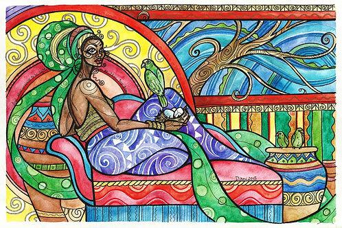 Fine Art Print: Amazona