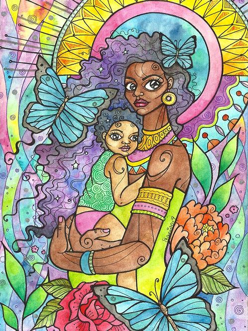 Art Print: Let Love Be My Guide