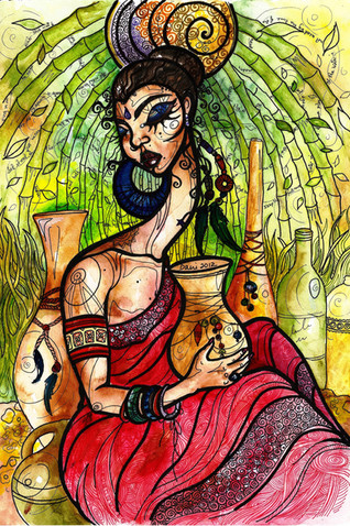 Bamboo Lady