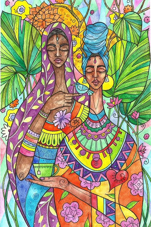 Art Print: Journeying Together