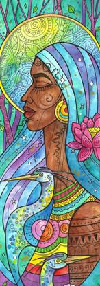 Heron Goddess