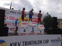 Médaillé de bronze  Le triathlète québécois Alexis Lepage se distingue à la Coupe européenne à Kiev
