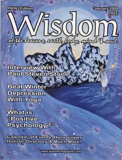 Cover illustration for Wisdom Mag