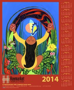 Illustration & design of calendar