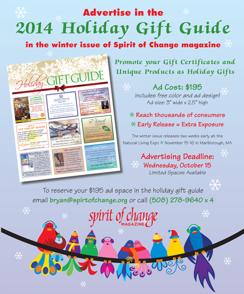 Spirit of Change Holiday Ad