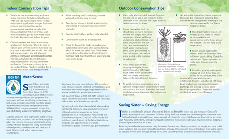 Dept of Conservation Brochure