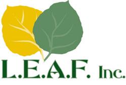 Logo illustration for LEAF