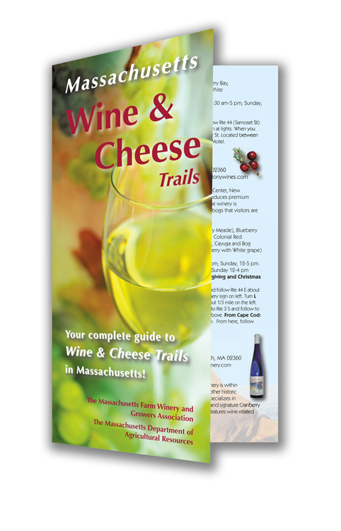 Wine & Cheese Brochure Design
