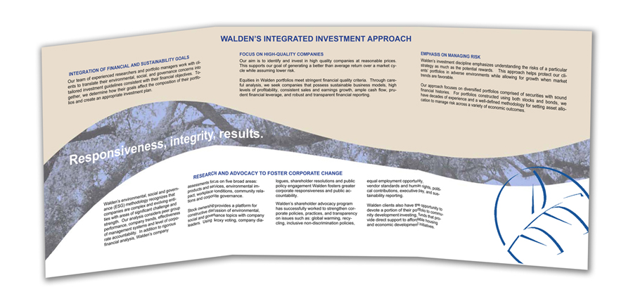 Walden Brochure Interior