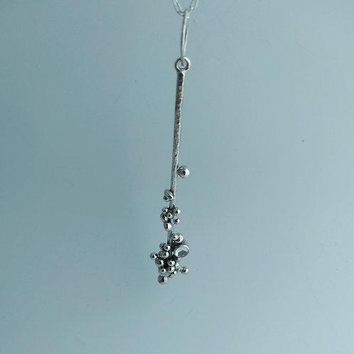 Wave Crest, Bar Necklace