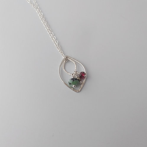 Multi-Way Leaf Necklace