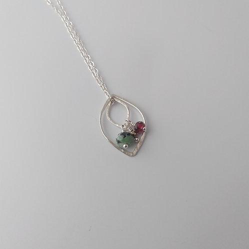Multi-Way Leaf Necklace (Warm Tone)