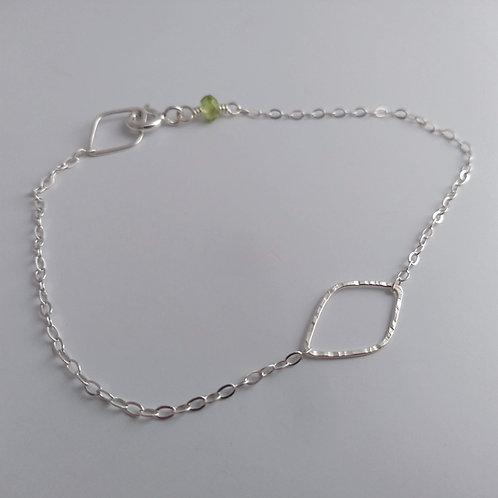 Open Leaf Bracelet