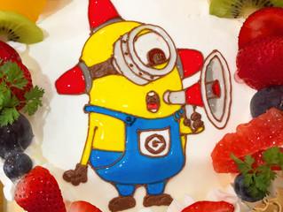 4月5月のオリジナルケーキについて。