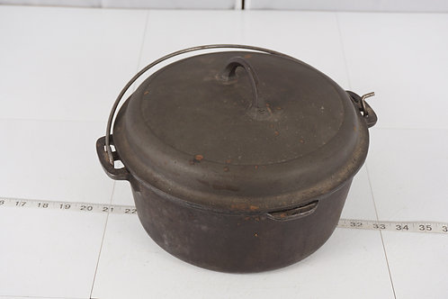 5 Qt Cast Iron Pot With Lid