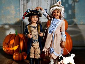 Se não fosse o pai e a mãe, era Halloween todos os dias!