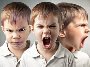 Sim,  as crianças podem sentir raiva!