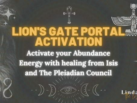 Lion's Gate Portal Light Language Activation