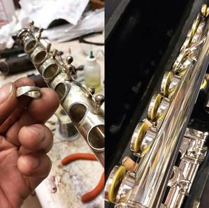 Vintage Bettoney Flute Overhaul