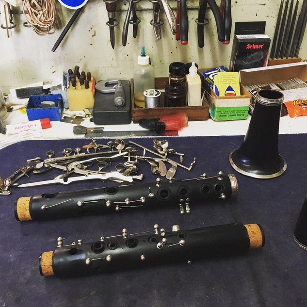 Clarinet Clean and Repad