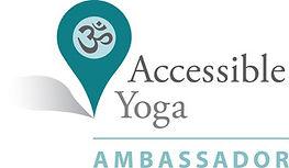 Accessible Yoga Ambassador Badge