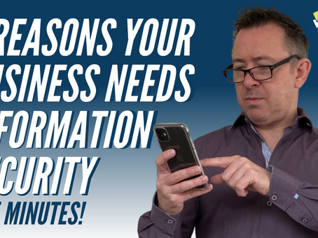 The Top 5 Reasons Your Business Needs Information Security