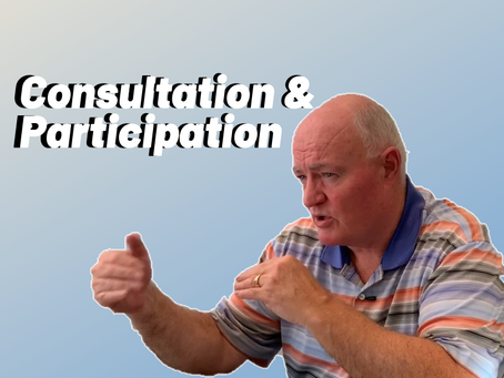 Effective Consultation and Participation
