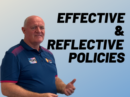 Do your policies effectively reflect your organisation?