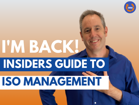 Welcome to the Insiders Guide to ISO Management Systems and Compliance
