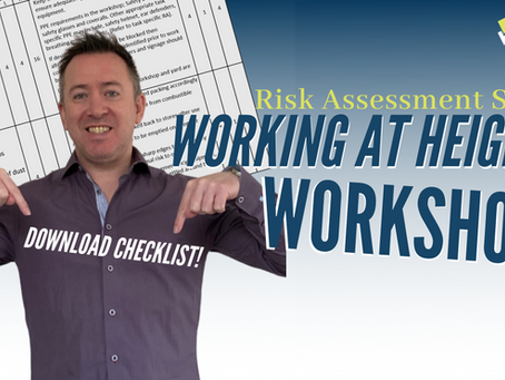 Examples of Risk Assessment - Working at Heights and  Workshop Activities