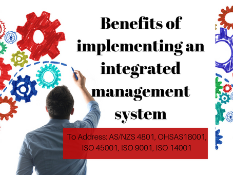 Benefits of implementing an Integrated Management System