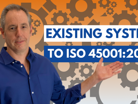 How To Transition To ISO 45001:2018