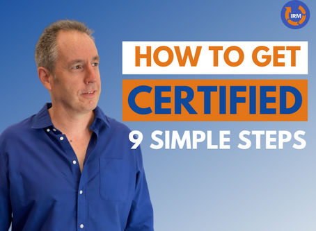 Seeking Certification to an ISO Standard? Follow these steps!