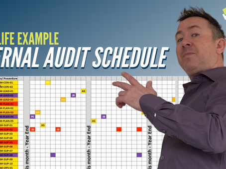 How To Write an Internal Audit Schedule