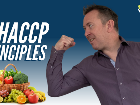 What are the 7 HACCP Principles?