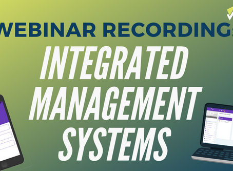 Introduction to Integrated Management Systems