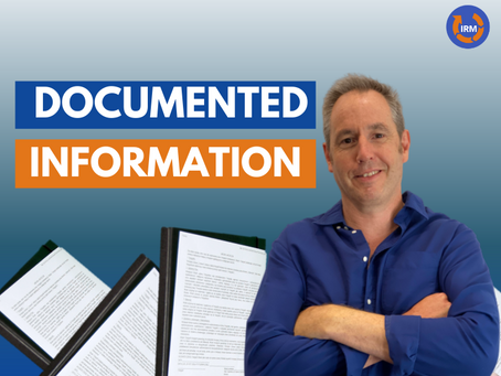 What Documents do we need in our ISO management System?