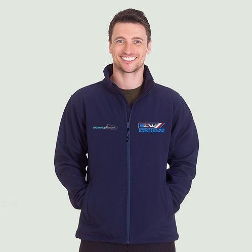 Softshell Jacket - Sponsor - BLUE LOGO