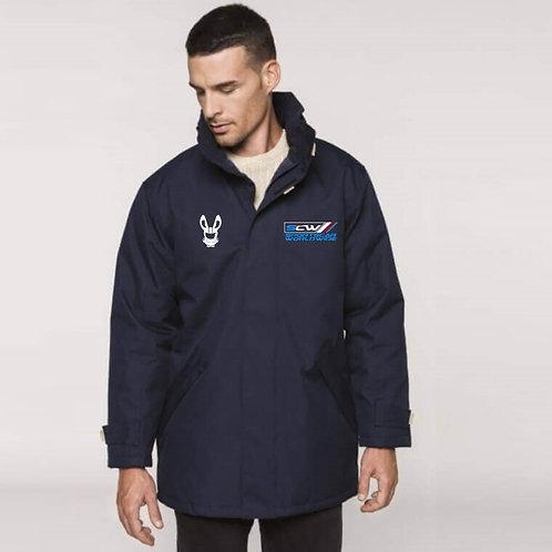 Parka Jacket - Sponsor - BLUE LOGO