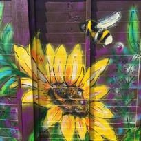 Bee and Flower Mural - Farnham 6.jpg