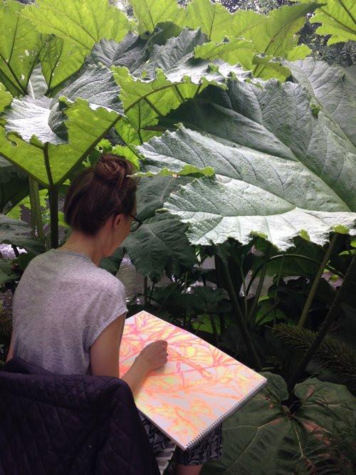 Artist in Residence, Hannah Peschar Sculpture Garden, 2017