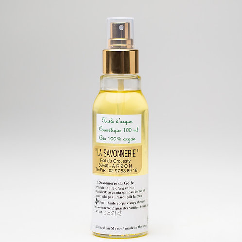 Huile d'Argan pure 100% - spray