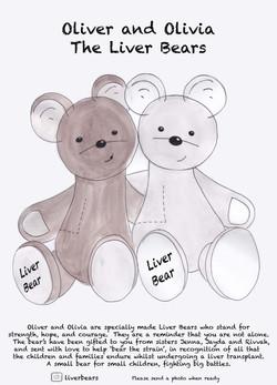 Liver bears sticker