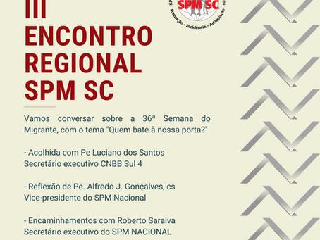 III Encontro Regional do SPM SC - virtual
