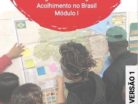 SPM SC lança materiais de português para imigrantes e relatório sobre histórico das aulas